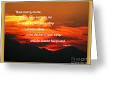 Waldo Canyon Fire Refuge Greeting Card