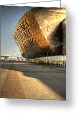 Wales Millenium Centre 2 Greeting Card