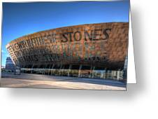 Wales Millenium Centre 3 Greeting Card