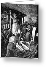 Wales: Rebecca Riots, 1843 Greeting Card