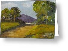 Walking Path Greeting Card