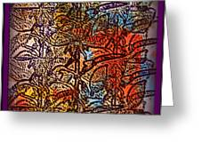Wall Paper Abstract Greeting Card