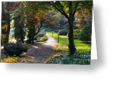Wallanlagen Park Greeting Card