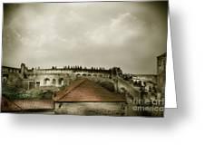Walls Of Dubrovnik Greeting Card
