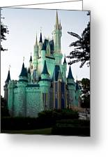 Walt Disney Castle Greeting Card