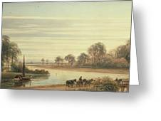 Walton On Thames Greeting Card