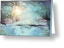 Wandering In The Light Greeting Card