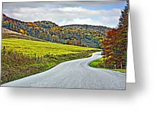 Wandering In West Virginia Greeting Card