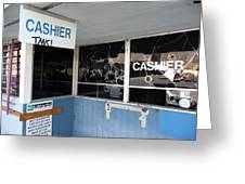 Wanted Cashier  Greeting Card
