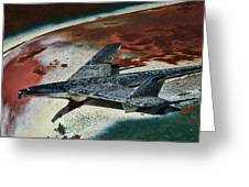 War Bird Greeting Card