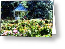 War Memorial Rose Garden 1  Greeting Card