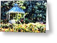 War Memorial Rose Garden 2  Greeting Card