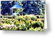War Memorial Rose Garden  3 Greeting Card