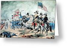 War Of 1812 Battle Of New Orleans 1815 Greeting Card