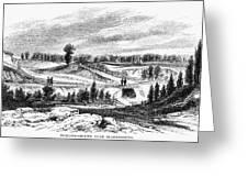 War Of 1812: Bladensburg Greeting Card