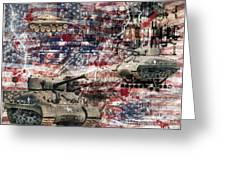War Wagons    Greeting Card