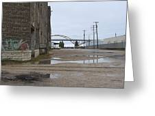 Warehouse And Hoan 1 Greeting Card