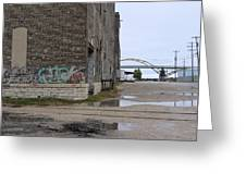 Warehouse And Hoan 2 Greeting Card