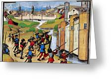 Warfare: Siege Of Arras Greeting Card