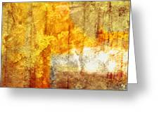 Warm Abstract Greeting Card