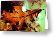 Warm Oak Greeting Card
