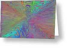 Warp Of The Rainbow Greeting Card