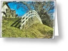 Warwick's Curve Greeting Card