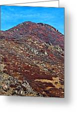 Wasatch Mountains In Ogden Utah Greeting Card