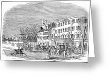 Washington, D.c., 1853 Greeting Card