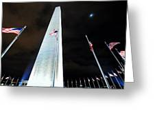 Washington Monument Greeting Card