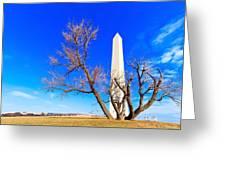 Washington Monument In Washington Dc Greeting Card