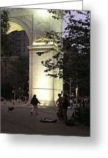 Washington Square Park Greeting Card