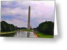 Washington - The Gathering Storm Greeting Card