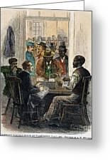 Washington: Voting, 1867 Greeting Card