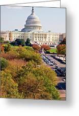 Washington2 Greeting Card