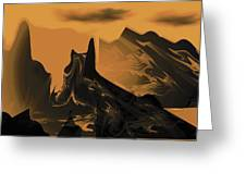 Wastelands Greeting Card