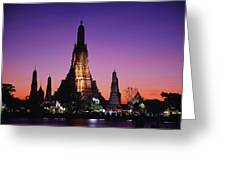 Wat Arun In Bangkok, Thailand Greeting Card