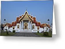 Wat Benchamabophit Ubosot Dthb279 Greeting Card