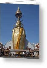 Wat Intarawiharn Phra Luang Phor Toh Standing Buddha Dthb294 Greeting Card