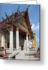 Wat Intarawiharn Ubosot Dthb1277 Greeting Card