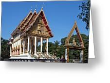 Wat Kan Luang Ubosot Dthu179 Greeting Card