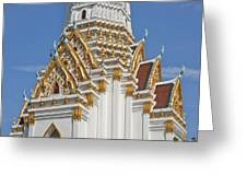 Wat Phitchaya Yatikaram Central Prang Dthb1189 Greeting Card
