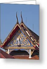 Wat Thewarat Kunchorn Gable Dthb286 Greeting Card