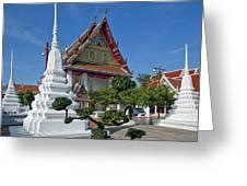 Wat Thong Nopphakhun Ubosot Dthb1169 Greeting Card
