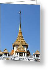Wat Traimit Phra Maha Mondop Of The Golden Buddha Dthb956 Greeting Card