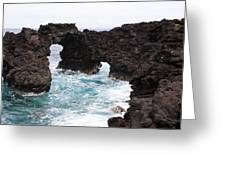 Water Arches Greeting Card