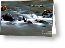 Water Cascades Greeting Card