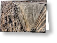 Water Dam Greeting Card
