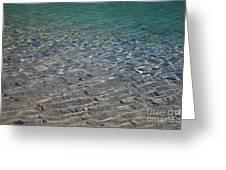 Water Depths Marine Greeting Card