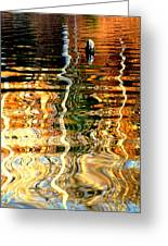 Water Glass Greeting Card